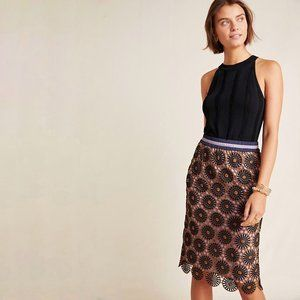 Loire Lace Pencil Skirt